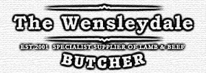 the wensleydale butcher brand lamb beef rounded